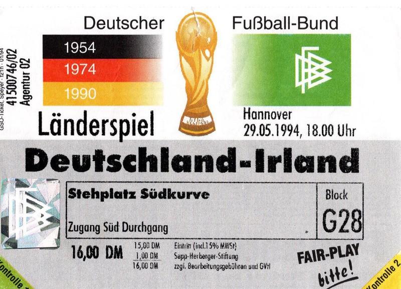 Irland Deutschland Tickets
