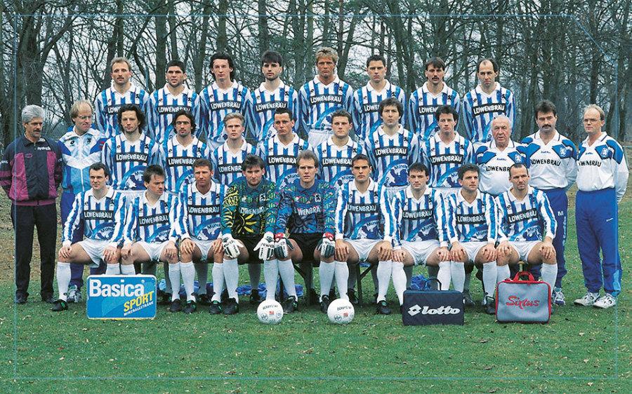 Programm Bundesliga 1994//95 SC Freiburg 1860 München